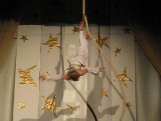 Воздушная гимнастика. Корд де парель