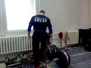 подготовка на соревнования 277.5кг на 1 раз собств вес 99кг