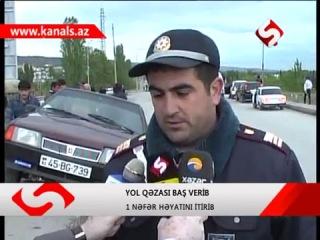 Mingəçevirdə sürücü sükan arxasında öldü