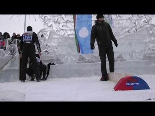 Соревнования по мас-рестленгу в честь ледового штурма