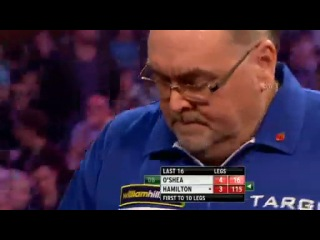 Tony O'Shea vs Andy Hamilton (Grand Slam of Darts 2013 / Second Round)