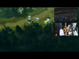 Dota 2 TI3 Top Play - Clip 17 - XBOCT Alchemist Jukes (Crowd Reaction + Pod Cam)