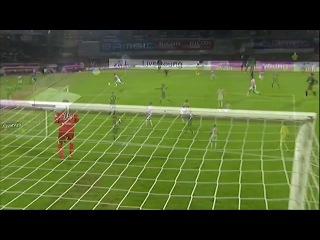 """Гол Хавьера Пасторе в ворота """"Эвиана"""" - - Evian TG FC - Paris Saint-Germain (0-1)"""