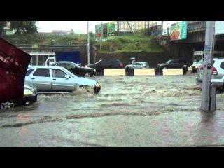 """""""Небольшой"""" дождик в Новосибирске"""