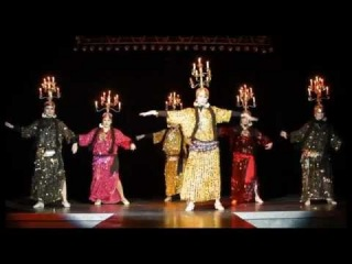 I International festival of the Egyptian folklore dance Scarabey 2011 Russia