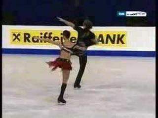 Arina Ushakova Sergei Karev sp europeans 2008