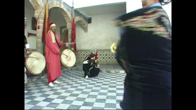 Танец гнава Les Gnawas d'Essaouira 1