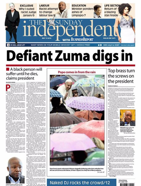 The Sunday Independent - 15 May 2016
