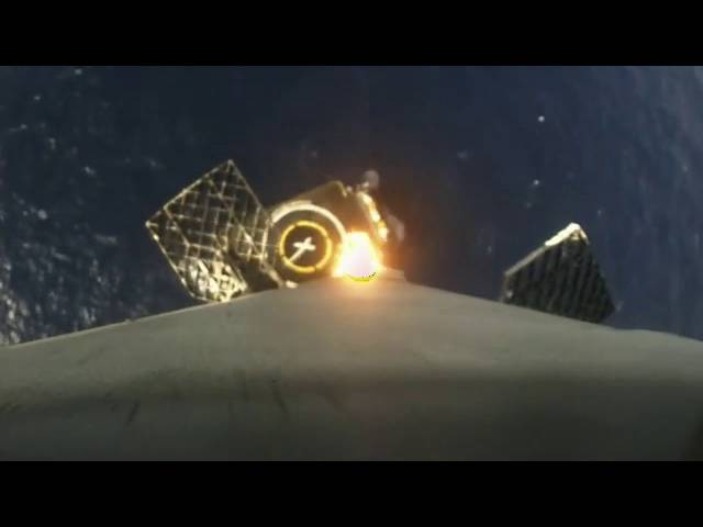 First stage landing Onboard camera