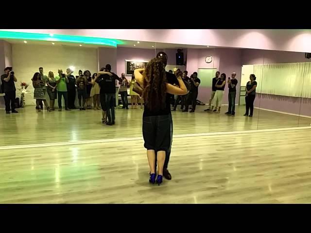 KIZOMBA tricks 20.08.15 Demo DASMARA LAURA