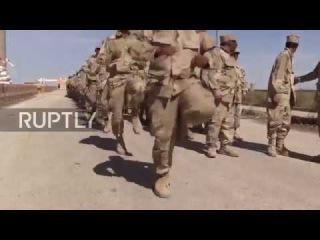 Сирия: СДС силы и Курдские ополченцы готовятся к операции Ракка.