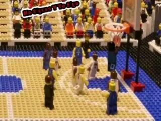 Lego Basketball - London Olympic Games USA vs France