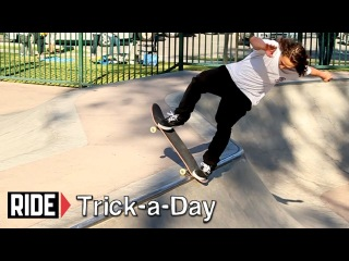 How-To B/S Bluntslides on Tranny with Shawn Hale - Trick-a-Day