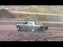 Blue W123 Diesel Turbo Burnout Hedemora Sweden
