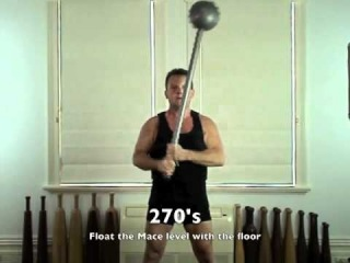 Indian GADA/MACE Workout Elements