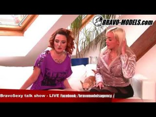 BravoSexy talk show 06/2017 se Sarah Star host Porno starlet 2017 Daisy Lee