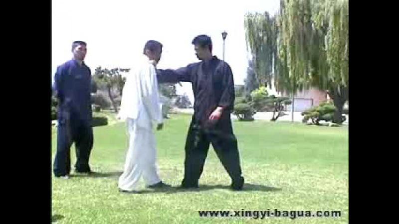 Xingyi and bagua applications 形意拳和八卦掌應用 - Master Hu Yao Wu