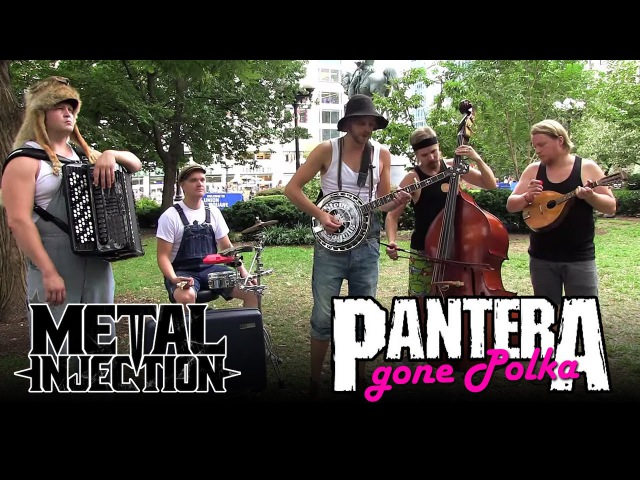 PANTERA Cemetery Gates Gone Polka by STEVE 'N' SEAGULLS Metal Injection