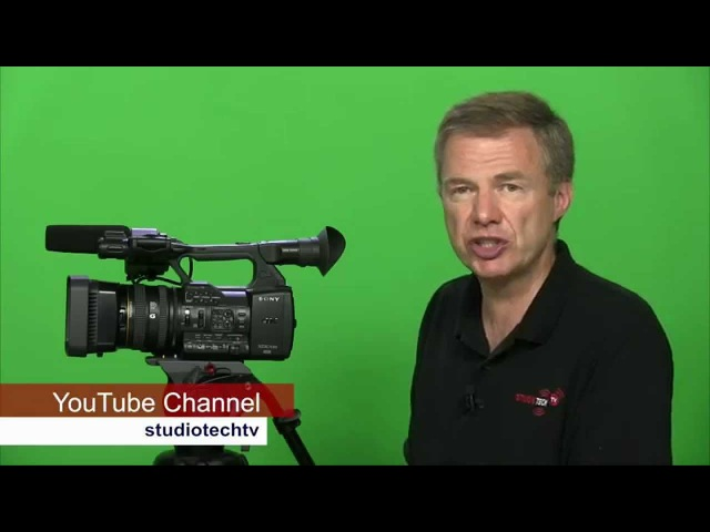 StudioTech 112 Sony PXW Z100 4K video camera