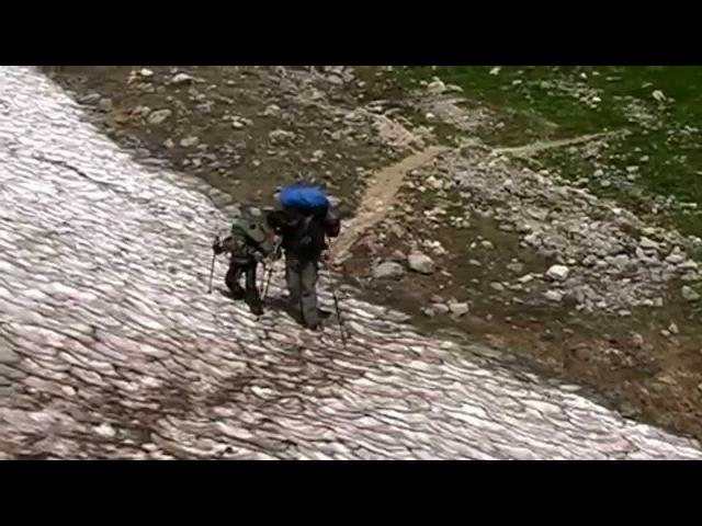 Поход в горы Кавказа 2015 июль