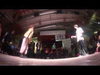 HipHop Profi 1x1 Battle 2 Chekushka vs Shtanko UNDERGROUND BATTLE 2015