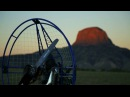 PPG Flying Cabezon Peak New Mexico