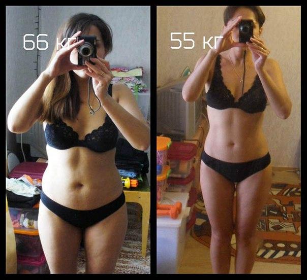 Клетчатка до и после похудения