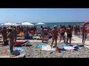 Гимн РФ на пляже в пос. Лазаревское