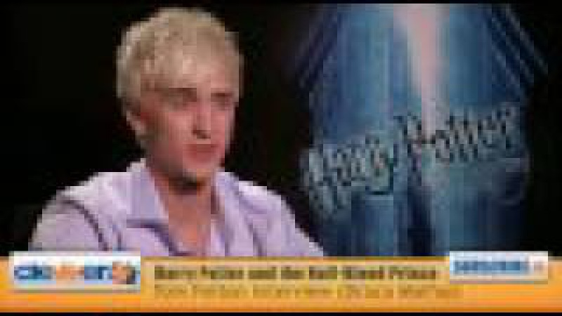 Tom Felton Interview: Draco Malfoy From Harry Potter Half Blood Prince