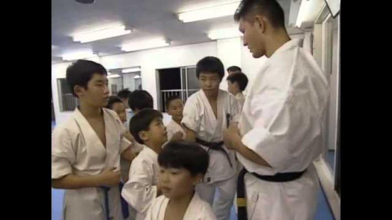 Подготовка яп сборной к 6 му чемп Мира по Каратэ Кекусинкай 2 Preparation of the Japanese team