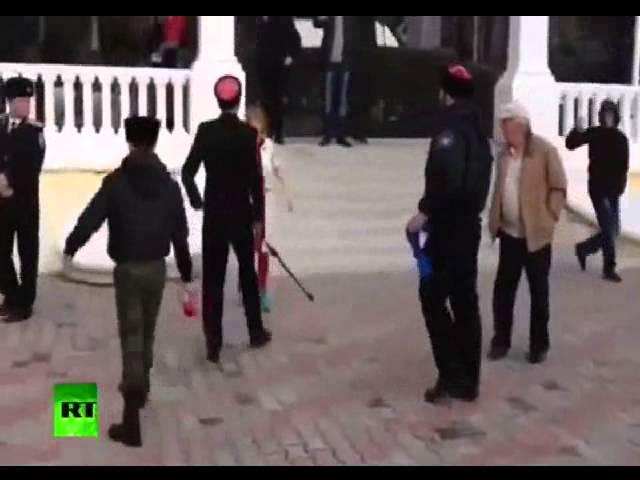 Пусси Райот в Сочи высекли казаки Pussy Riot in Sochi