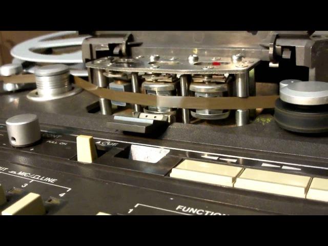 Italo Disco Mix Tascam 34B Reel To Reel Analog Cutting Part 1 Outtakes