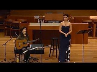 Falla: Polo - Isabel Leonard, mezzo-soprano, & Sharon Isbin, guitar