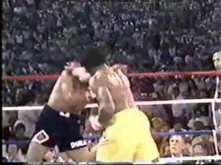 A Classic Match Between Thomas Hearns & Roberto Duran