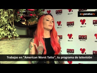 La sexy Megan Massacre entregó consejos a la hora de tatuarse