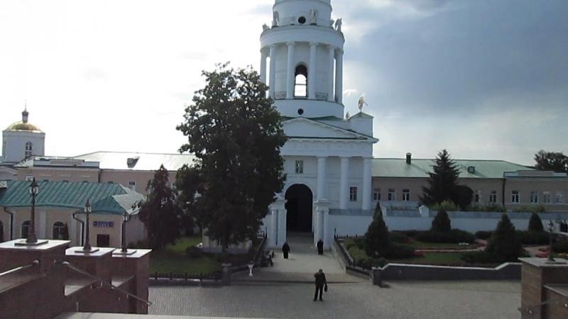 Задонский Рождество Богородицкий мужской епархиальный монастырь г Задонска Липецкой области
