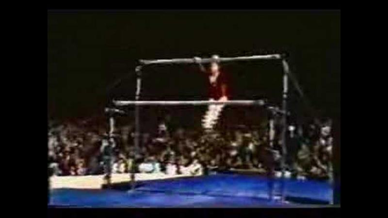 ELENA MUKHINA 1978 WORLD'S ALL AROUND ALL 4 ROUTINES