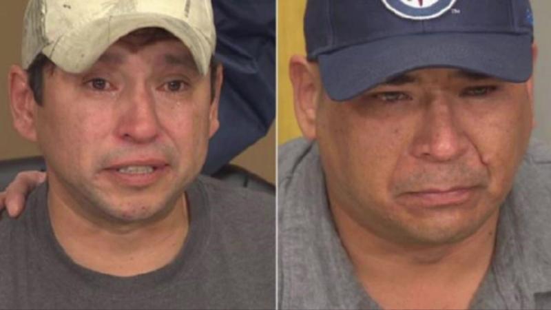 Леон и Дэвид узнали что их перепутали в роддоме 41 год назад печаль злость смущение
