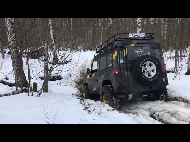 Off Road зимой Wrangler Нива Defender Уаз