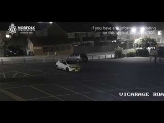 Police release shocking footage of hit and run