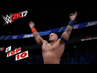 Stupefying Super Maneuvers!: WWE 2K17 Top 10