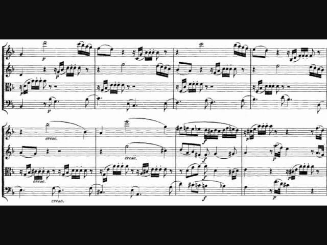 Mozart String Quartet n 15 in D minor K 421 1783 I Allegro