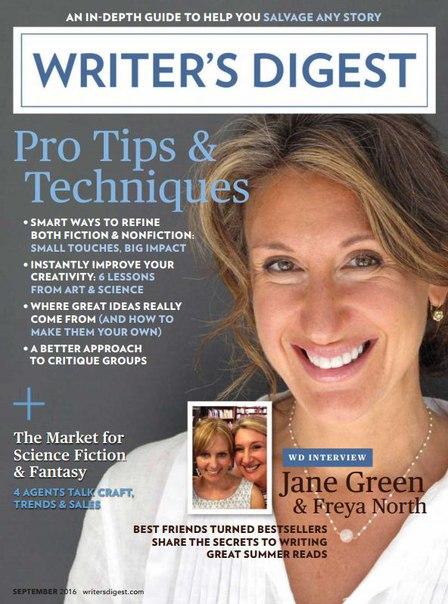 Writer's Digest - September 2016 vk.com