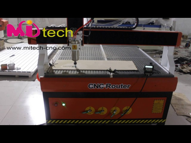 Mitech 1010 cnc router with vacuum table