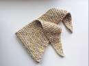 Шарф платок спицами Бактус Baktus