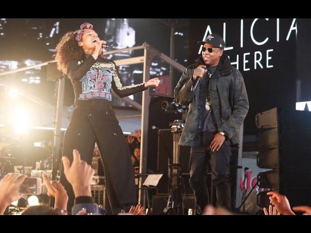 Jay Z Alicia Keys - Empire State of Mind LIVE (Times Square, NYC 2016)