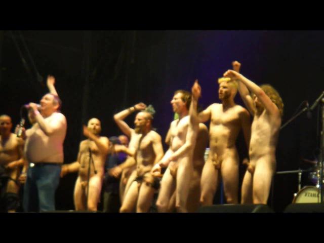 Kassierer Nackttanz von hässlichen Menschen