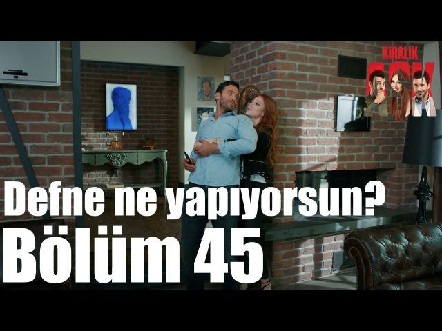 Kiralık Aşk 45. Bölüm - Defne Ne Yapıyorsun