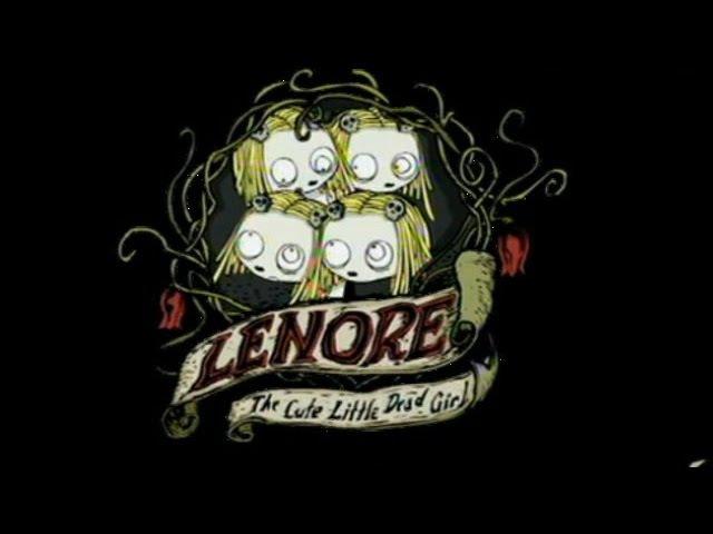 Ленор, маленькая мертвая девочка.Чаепитие