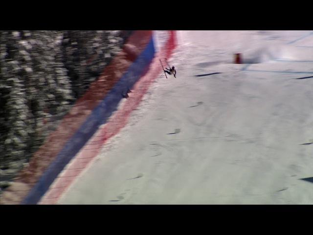 Skier TJ Lanning Discusses His Crash at Birds of Prey in 2006 | ISOS003